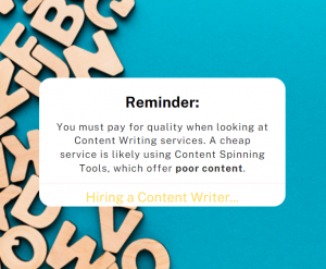 Content Writer Tips